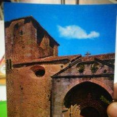 Cartes Postales: POSTAL CUACOS DE YUSTE CACERES IGLESIA DE NUESTRA SEÑORA DE LA ASUNCIÓN. Lote 183801760