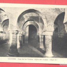 Postales: CACERES- CASA DE LAS VELETAS, ALGIBE DEL ALCAZAR, SIGLO X, SIN CIRCULAR, EDICIONES M. ARRIBAS, . Lote 184224075