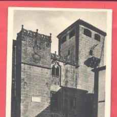 Postales: CACERES- CASA DE LOS GOLFINES, SIGLO XVI, SIN CIRCULAR, EDICIONES M. ARRIBAS, VER FOTOS. Lote 184224292