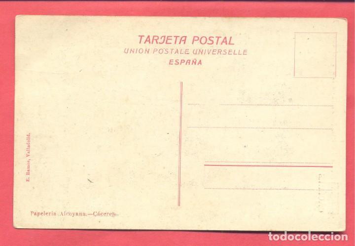 Postales: caceres-arco del cristo (bajada a la fuente del concejo) sin circular, papeleria alcoyana - Foto 2 - 184228171