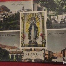 Postales: ANTIGUA POSTAL.ALANGE.BADAJOZ.HELIOTIPIA ARTISTICA Nº 15 COLOREADA.. Lote 186028423