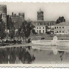 Postales: X122854 EXTREMADURA BADAJOZ ZAFRA CASTILLO Y TORRE DE LA PARROQUIA. Lote 189270215