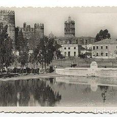 Postales: X122855 EXTREMADURA BADAJOZ ZAFRA CASTILLO Y TORRE DE LA PARROQUIA. Lote 189270277