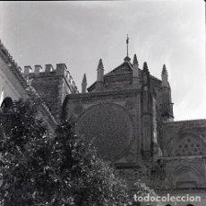 Postales: NEGATIVO ESPAÑA CÁCERES GUADALUPE 1970 KODAK 55MM NEGATIVE GRAN FORMATO SPAIN PHOTO FOTO. Lote 189283681