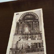 Postales: ANTIGUA POSTAL VALENCIA DE ALCÁNTARA ALTAR DE NUESTRA SEÑORA DE LOS REMEDIOS. Lote 190004137