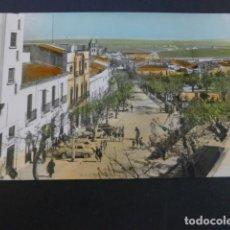 Postales: MERIDA BADAJOZ RAMBLA DEL GENERALISIMO ED, ARRIBAS Nº 1003 COLOREADA. Lote 190121641