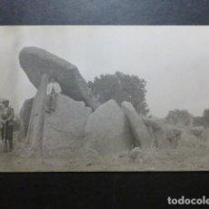 Postales: BARCARROTA BADAJOZ POSTAL FOTOGRAFICA DOLMEN EL MILANO HACIA 1915. Lote 190810917