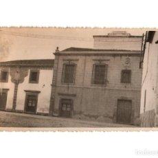 Postales: MIAJADAS.(CÁCERES).- PALACIO DEL OBISPO SOLÍS. POSTAL FOTOGRÁFICA.. Lote 191088118