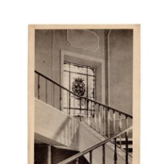 Postales: PLASENCIA.(CÁCERES).- HOTEL ALFONSO VIII.- DETALLE DE LA ESCALERA.. Lote 191090416