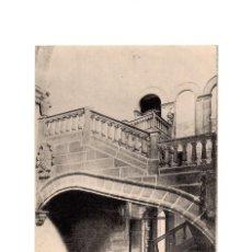 Postales: PLASENCIA.(CÁCERES).- IGLESIA DE SANTO DOMINGO. NOTABLE ESCALERA EN EL CONVENTO.. Lote 191096406