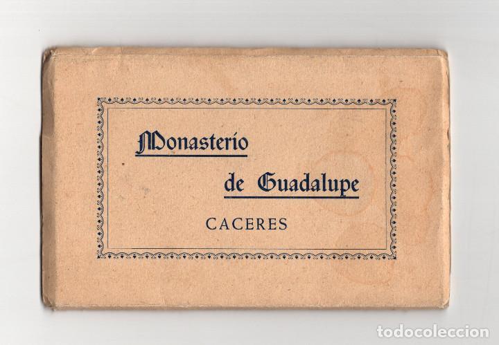 CÁCERES.- MONASTERÍO DE GUADALUPE. FOTO RODRÍGUEZ. (Postales - España - Extremadura Antigua (hasta 1939))