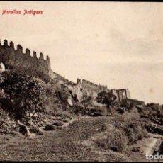 Postales: TRUJILLO (CACERES) - MURALLAS ANTIGUAS - EDITOR A. DURAN TRUJILLO - Nº 14. Lote 191614016