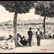 Postales: TRUJILLO (CACERES) - EN LA FERIA - EDITOR A. DURAN TRUJILLO - Nº 27. Lote 191615398