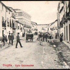 Postales: TRUJILLO (CACERES) - CALLE ENCARNACION - EDITOR A. DURAN TRUJILLO - Nº 7. Lote 191616792