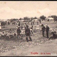 Postales: TRUJILLO (CACERES) - EN LA FERIA - EDITOR A. DURAN TRUJILLO - Nº 28. Lote 191621191