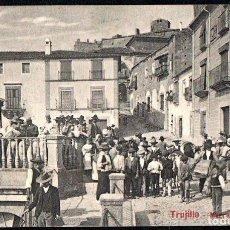 Postales: TRUJILLO (CACERES) - MERCADO DE GRANOS - EDITOR A. DURAN TRUJILLO - Nº 25. Lote 191621462