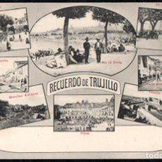 Postales: TRUJILLO (CACERES) - RECUERDO DE TRUJILLO - EDITOR A. DURAN TRUJILLO . Lote 191621763