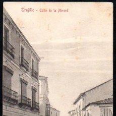 Postales: TRUJILLO (CACERES) - CALLE DE LA MERCED - EDITOR A. DURAN TRUJILLO - Nº 8. Lote 191622076