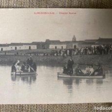 Postales: ANTIGUA POSTAL ALMENDRALEJO BADAJOZ CHARCA NUEVA . Lote 193389458