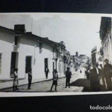 Postales: AZUAGA BADAJOZ UNA CALLE POSTAL FOTOGRAFICA. Lote 193429556