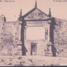 Postales: POSTAL TRUJILLO - PORTADA ANTIGUA - ROIG - CACERES. Lote 193572747