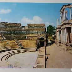 Cartoline: POSTAL MÉRIDA EXTREMADURA - TEATRO ROMANO - 74 EDICIONES ARRIBAS - 104X149MM SIN CIRCULAR. Lote 193779322