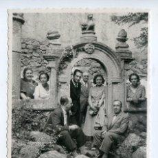 Postales: MONASTERIO DE YUSTE, RUINAS CON VISITANTES, POSTAL FOTOGRÁFICA AÑOS 20 O 30. Lote 194028146