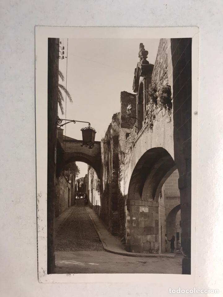 CÁCERES. POSTAL NO.26, ARCO DE LA ESTRELLA. EDITA: FOTO JAVIER (H.1950?) CIRCULADA.... (Postales - España - Extremadura Moderna (desde 1940))