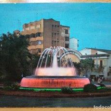 Postales: CACERES. AVDA. DE ESPAÑA. FUENTE LUMINOSA. ED. ARRIBAS. Nº 2024. Lote 194217032