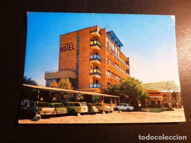 NAVALMORAL DE LA MATA CACERES HOTEL MOYA ESTACION DE SERVICIO (Postales - España - Extremadura Moderna (desde 1940))