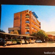 Postales: NAVALMORAL DE LA MATA CACERES HOTEL MOYA ESTACION DE SERVICIO. Lote 194244766
