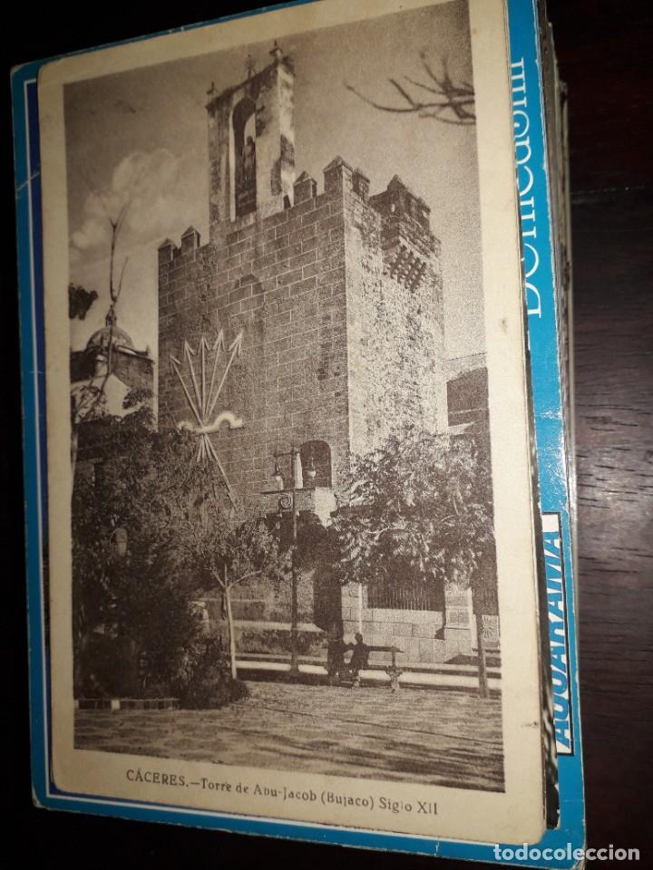 Nº 36310 POSTAL CACERES TORRE DE ABU JACOB BUJACO (Postales - España - Extremadura Moderna (desde 1940))