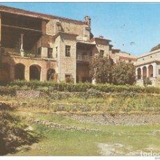 Postales: == B1427 - POSTAL - MONASTERIO DE SAN JERONIMO DE YUSTE - PARTE POSTERIOR DEL PALACIO Y MONASTERIO. Lote 195338248