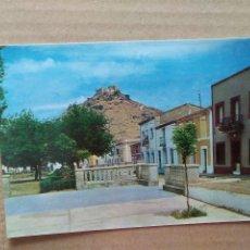 Cartes Postales: POSTAL BURGUILLOS DEL CERRO-PASEO DEL CRISTO, AL FONDO EL CASTILLO. Lote 196266903