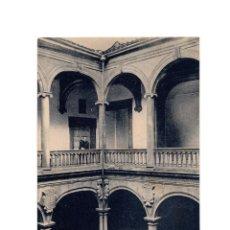 Postales: PLASENCIA.(CÁCERES).-DETALLE DEL PATIO PRINCIPAL DE LA CASA DE LAS BÓVEDAS.. Lote 196385455