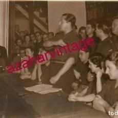 Postales: CACERES, 1936, CINE NORBA, MITIN DE JOSE ANTONIO PRIMO DE RIVERA, INEDITA, FOT.JAVIER. Lote 196448037
