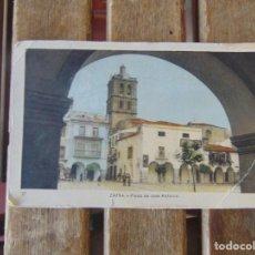Postales: TARJETA POSTAL ZAFRA PLAZA DE JOSE ANTONIO EDICIONES ARRIBAS COLOREADA. Lote 197394292