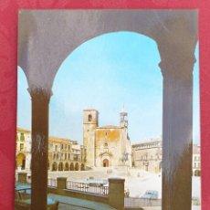 Postales: POSTAL ANTIGUA- TRUJILLO- PLAZA MAYOR- E IGLESIA DE SAN MARTIN MAIN . Lote 198472851