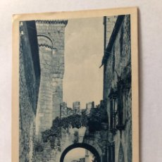 Postales: POSTAL EXTREMADURA TRUJILLO ARCO DE SANTIAGO Y PALACIO DE LOS CHAVES . Lote 198827165