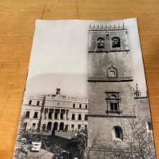 Postales: ANTIGUA POSTAL BADAJOZ CATEDRAL Y AYUNTAMIENTO RARKER. Lote 198859693