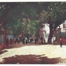 Postales: CÁCERES.- BAÑOS DE MONTEMAYOR.- ALREDEDORES DEL BALNEARIO. ALEMANA FUENCARRAL. Lote 198925395