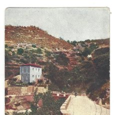 Postales: CÁCERES.- BAÑOS DE MONTEMAYOR.- VISTA DEL PUENTE Y HOTEL. ALEMANA FUENCARRAL- CIRCULADA. Lote 198925687
