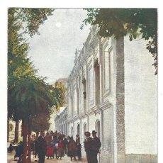Postales: CÁCERES.- BAÑOS DE MONTEMAYOR.- PERFIL DE LAS FACHADAS DEL BALNEARIO. ALEMANA FUENCARRAL. Lote 198926476