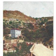 Postales: CÁCERES.- BAÑOS DE MONTEMAYOR.- FACHADA DE FRENTE DEL NUEVO PABELLÓN. ALEMANA FUENCARRAL. Lote 198927790