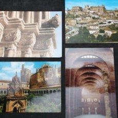 Postales: CÁCERES, TRUJILLO, GUADALUPE, MERIDA. Lote 199651013