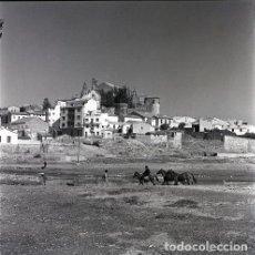Postales: NEGATIVO ESPAÑA CÁCERES PLASENCIA 1970 KODAK 55MM GRAN FORMATO NEGATIVE SPAIN PHOTO. Lote 199943521