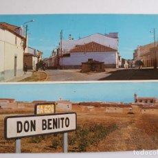 Cartoline: DON BENITO - BADAJOZ - VISTAS - E1. Lote 201199231