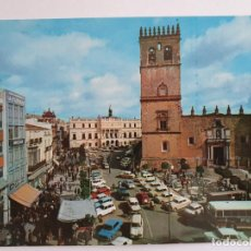 Cartes Postales: BADAJOZ - PLAZA DE ESPAÑA - E1. Lote 201200230
