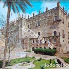 Postales: ANTIGÜA FOTOPOSTAL DE CACERES - PALACIO DE LOS VELETAS - SIN CIRCULAR. Lote 204406486
