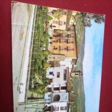 Postales: BAÑOS DE MONTEMAYOR CACERES JARDINES HERNAN CORTES CIRCULADA 1978. Lote 204426887